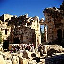 Baalbek is located in the Bekaa Valley,Lebanon at an altitude of 3,850 ft. It is famous for its Roman temple ruins. It is a UNESCO World Heritage Site...