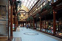 The Central Arcade in Newcastle upon Tyne is an elegant Edwardian shopping arcade built in 1906.