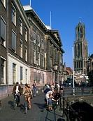 Netherlands, Utrecht, street scene.