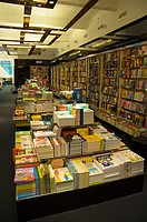 Childrens section Alexandra Hungarian bookshop chain Andrassy utca central Budapest Hungary Europe