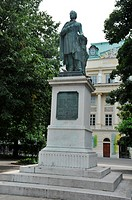 Monument to Josef Ludwig Franz Ressel (29th June, 1793 - 9th October, 1857) was a Czech-German forest ranger and inventor responsible for the first fu...