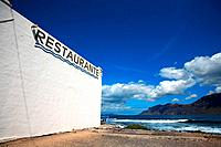 Spain, Canary islands, Lanzarote, Caleta de Famara