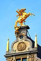 Belgium, Antwerp, guildhouses