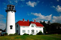 Chatham Lighthouse, Chatham, Massachusetts, Cape Cod, New England, USA