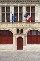Maire de Beaugency, Town Hall in the medieval town of Beaugency, Loire Valley, France