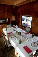 The Roald Amundsen Pullman Car in which many US Presidents travelled, Railroad Park, Scottsdale, Arizona, USA