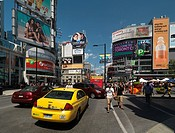 Dundas Square at Yonge and Dundas streets  Downtown Toronto, Ontario, Canada 2011