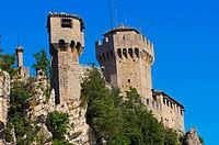 San Marino  Rocca fratta, Fratta Tower  Monte Titano  Republic of San Marino  Italy  Europe.
