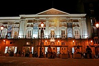 Spanish Theater, Santa Ana's square, Madrid, Spain