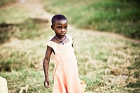 Portrait Of A Girl, Kampala Uganda Africa