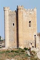 Castillo de Alcalá Júcar, Albacete, Castilla La Mancha, Spain