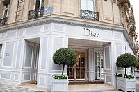 Dior Shop Avenue Montaigne, Paris, France