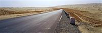 Xinjiang desert highway