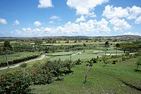 view of wide plains, Guam