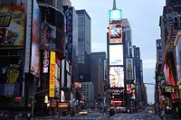 Times Square, Broad Way, Manhattan, New York, New York City, NY, United States America, USA, North America