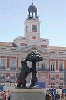 Bärenstatue vor der Casa de Correos, 1967