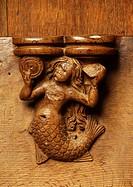 Chorgestühl, 1505_1508, Miserikordie mit Sirene