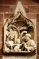 Johannes_Kapelle, sog. Epitaph des Konrad von Busnang, 1464 von Gerhaerd von Leyden