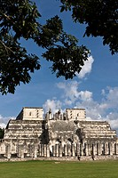 Temple of the Warriors in Chichen Itza, Yucatan Peninsula, Mexico