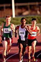Three Long_Distance Runners on Track