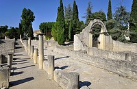 France, Vaison-la-Romaine, archaeological site