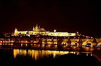 Prague Castle and Charles Bridge