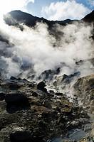 Krysuvik Mod springs near Kleifarvam  Nature Park  South west of Iceland