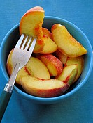 Greek Cuisine  Fresh Peaches