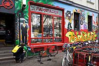 Bicycle shop Pedalkraft in Skalitzer Strasse, Berlin_Kreuzberg, Berlin, Germany, Europe