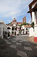 Taxco, colonial town well known for its silver markets, Guerrero State, Mexico, North America