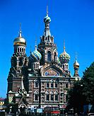 Redeemer Church in Saint Petersburg, Russia