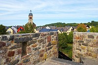 City wall, Hillesheim, Eifel, Rhineland_Palatinate, Germany, Europe