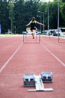taking hurdles