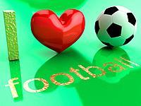 I love football