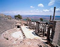 Theater of Dougga Tunisia