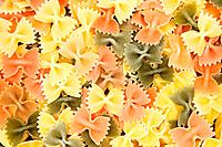 Colorful Farfalle