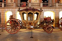 King Dom Joao V Coach 18th cent  - 2nd half - National Coach Museum/ Museu Nacional dos Coches, Lisbon, Portugal