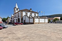 City-Hall building of Castelo de Vide  Alto Alentejo, Portugal