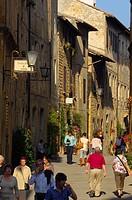 Pienza, Val d´Orcia, Siena Province, Tuscany, Italy