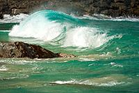 Crashing Wave on the Napali Coast