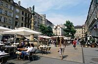 Place St Jacques, Metz, Moselle, Lorraine region, France