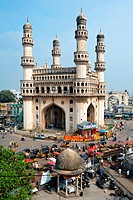 Charminar , Hyderabad , Andhra Pradesh , India
