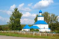 Orthodox rural temple