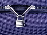 Padlock on Luggage