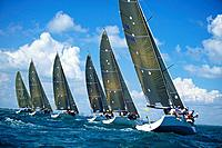 Beginning of Sailboat Race