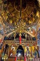 Dormition of the Virgin Church  Asklipeiou Village, Rhodes Island, The Dodecanese Archipelago, Greece, Europe.