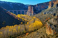 Hoces del Riaza Natural Park. Maderuelo. Segovia province. Castilla y Leon. Spain.