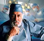 Pensive surgeon