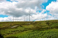Wind Farm Turbines Wales UK