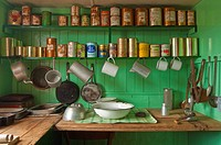 pantry of formaly research station, Antarctica, Port Lockroy